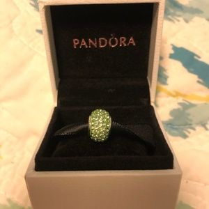 Green Jeweled Charm from Kay - fits on Pandora